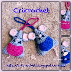 crochet tutorial for mouse ♥ Crochet Baby Toys, Crochet Mouse, Crochet Dolls, Crochet Hats, Crochet Fairy, Love Crochet, Crochet For Kids, Crochet Animal Patterns, Stuffed Animal Patterns