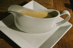 Pamela's Delicious Fast Gravy is just as the name declares. Can be prepared quickly and easily and tastes great.