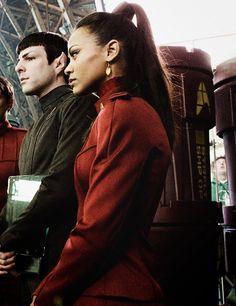 I ship Uhura and Spock so hard.