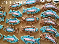 Trout cookies