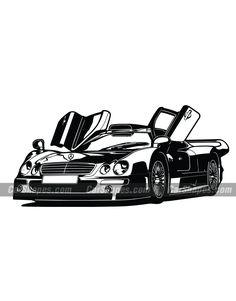 1997 MERCEDES CLK GTR Mercedes Clk Gtr, Mercedes Benz, Car Vector, Car Illustration, Vector Illustrations, Art, Auto Racing, Muscle Cars, Art Background