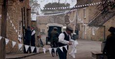 Downton abbey wedding garland