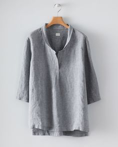 Image of Loose linen tunic