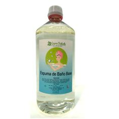 Espuma de Banho Base, é uma base de sabão espumosa para banho ou ducha.