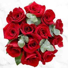 9 Rose & Eucalyptus Bouquets