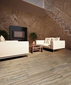 Velvet - Italian Floor & Wall Tile. Click on the image to visit our website and to view the rest of our collection. Marble Look Tile, The Rest Of Us, Tiles, Velvet, Flooring, Wall Tile, Living Room, Interior Design, Inspiration