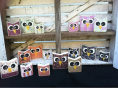 The Pickety Place: Mini owls!