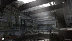 ArtStation - People Can Fly Concept Art - Bunker Interior, Scribble Pad Studios