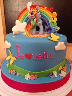 Rainbow Dash Decorated Cakes - Yahoo Image Search Results