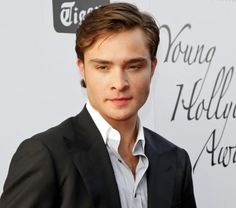 Ed Westwick. . . Not that bad looking!