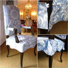 2 Piece Slipcovers with arm covers