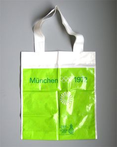 Munich 1972 Olympics, Plastic Bag - Otl Aicher
