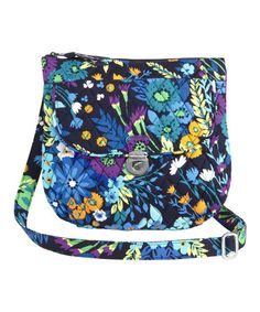 Another great find on #zulily! Midnight Blues Saddle Hipster Crossbody Bag #zulilyfinds