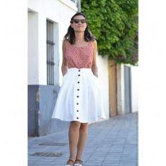 patron de jupe pour femme Mirambell, de la marque Pauline Alice, à retrouver dans la boutique en ligne de 36 bobines avec un large choix de patrons de couture indépendants.