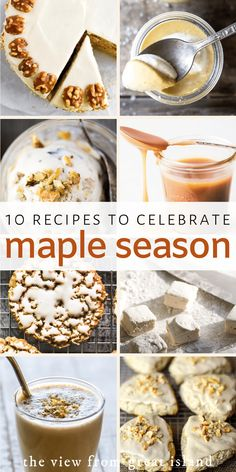 The best maple recipes to celebrate the start of maple syrup season, from maple cake and scones to maple glazed Brussels sprouts and more! Maple Syrup Cake, Maple Cake, Maple Syrup Recipes, Baking Recipes, Easy Recipes, Dessert Recipes, Desserts, Cooking Jam, Cooking Tips