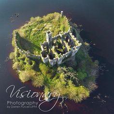 Castle Island, Lough Key, Boyle, Co Roscommon, Ireland