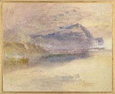 Evening: Cloud on Mount Rigi, seen from Zug  Joseph Mallord William Turner, c.1841  © University of Oxford - Ashmolean Museum