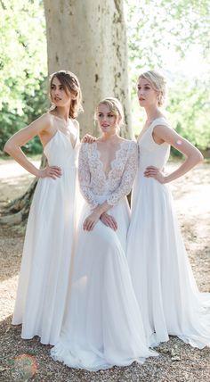 Beautifully handmade Wedding Dresses from Austria by Julia Sophie Handmade Wedding Dresses, Austria, Bridesmaid Dresses, Bridal, Beauty, Ideas, Fashion, Hand Sewn, Dress Wedding