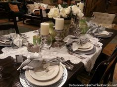 Inspiration for the Spring Table =Elegant Easter by Pottery Barn