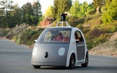 Google driverless car (2012)  Google is yet to launch its driverless cars, but it began testing the vehicles in California earlier in 2012, and has indicated that it wants to roll them out broadly by 2017. The cars have a top speed of 25mph and are designed to be perpetually in motion, powered by Google's detailed knowledge of traffic flow. If the concept takes off, it is thought that driverless cars could transform the way we move around cities in the future. Picture: Google
