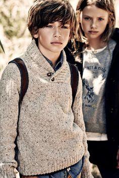 Massimo Dutti Fall Winter 2014-15 Kidswear
