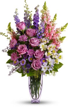Learn all about different types of flowers, from roses and lilies to spring and wedding flowers with stunning photos and planting information. #weddingflowers