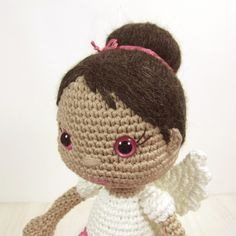 Guardian Angel Girl Amigurumi Pattern