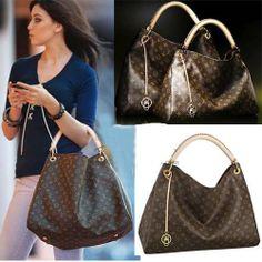 Louis Vuitton Artsy Mm Brown Shoulder Bags For Designer Handbags Off