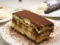"""Tiramisu is one of the latest additions to """"traditional"""" Italian cooking. Unknown until the late 1970s, when it was invented in the town of Treviso in Northern Italy, it became a world-renowned dessert in merely a decade.REGION: Veneto"""