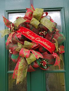 Hey, I found this really awesome Etsy listing at https://www.etsy.com/uk/listing/537005160/merry-christmas-wreath-deco-mesh