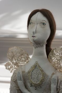Fairy Tale Art Doll collectors doll by Pantovola 'Liùsaidh Moth Fae'