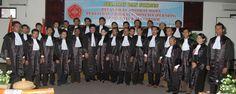 Foto bersama seusai Acara Pelantikan Advokat Muda Peradin pada 11 Mei 2012 di Kendari Sulawesi Tenggara.
