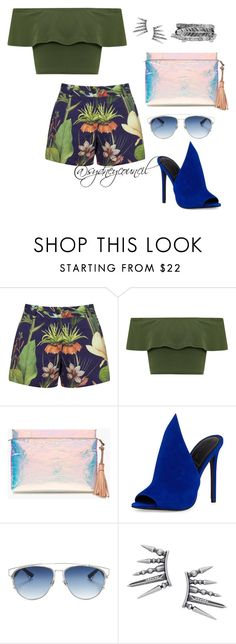 """Aqua"" by sydneycouncil on Polyvore featuring Penfield, WearAll, J.Crew, Kendall + Kylie, Christian Dior, Boohoo, fashionset, polyvorefashion and sydneycouncil"