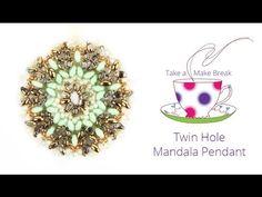 Mandalas para Colares e Brincos - Como Criar Bijuterias – Montagem de Bijuterias