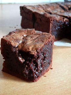 Gâteau au chocolat #11:maxi brownie au chocolat ultra fondant