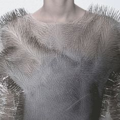 Capitol Contributor: Ying Gao Fashion that talks back in a beautiful accent. Fabric Manipulation Fashion, Ying Gao, Gif Fashion, Capitol Couture, Lilt, Of Montreal, Textile Artists, Dressmaking, Graduate School