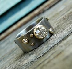 Divorce rings.  I want this one. It is beautiful!