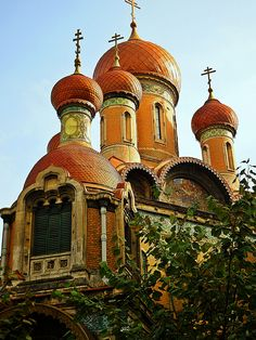 Nicolae Church, Bucharest (by Ramona R***) - Sf. Nicolae Church, Bucharest (by Ramona R***) Beautiful Mosques, Beautiful Buildings, Beautiful Places, Places To Travel, Places To See, Les Balkans, Architecture Religieuse, Romania Travel, Little Paris