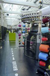 Knitting machine at TextielLab, Textielmuseum Tilburg