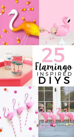 25 Flamingo-Themed DIYs   theglitterinmytea.com