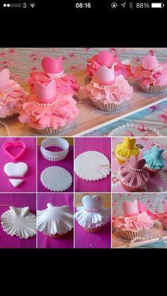 Princess cupcakes                                                                                                                                                     Más
