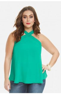 Lea Cross Neck Top