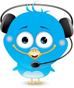 Headphones Bird
