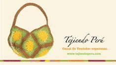 Cómo hacer un bolso con 8 cuadrados tejidos a crochet (o granny squares)
