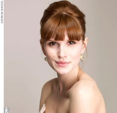 13 Best Updos With Bangs Images Wedding Hairstyles Hair