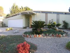 Eichler home in Granada Hills, CA