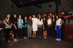Varuna D Jani with students of #Vow Initiative