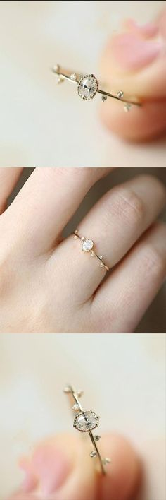 * EXTRA THICK RING* These extra thick stacking rings are perfect for mixing and matching! Either wear several at once or mix some in with your favorite rings for extra width and sparkle! Unique Rings, Beautiful Rings, Whimsical Fashion, Wedding Rings, Wedding Engagement, Promise Rings, Gold Bands, Diamond Engagement Rings, Engagement Jewelry