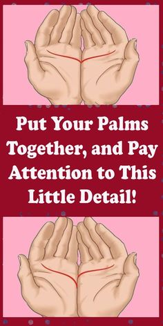 Put Your Palms Together, and Pay Attention to This Little Detail ! Natural Remedies For Allergies, Natural Headache Remedies, Natural Remedies For Anxiety, Natural Cures, Natural Facial, Natural Skin, Healthy Women, Healthy Tips, How To Stay Healthy