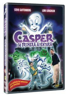 Diseño publicitario de DVD's - Stop Diseño Gráfico - Diseño de Casper: la primera aventura.